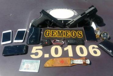GPS de celular ajuda a localizar suspeito de roubo em Itapuã