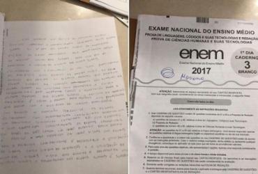 Candidato acusado de plagiar no Enem teria usado celular durante a prova