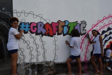 Abertas as inscrições para o projeto #Grafitaê