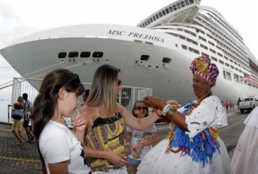 Salvador deve receber mais de 43 mil turistas de cruzeiros marítimos até abril | Xando Pereira | Ag. A TARDE