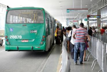 Linha Expresso Barradão começa a operar no clássico Ba-Vi | Raul Spinassé | Ag. A TARDE | 27/06/2017