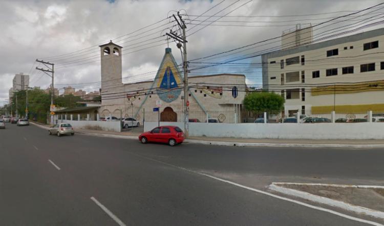 Os animais escaparam por área de mato próximo ao Santuário no Imbuí - Foto: Reprodução   Google Maps