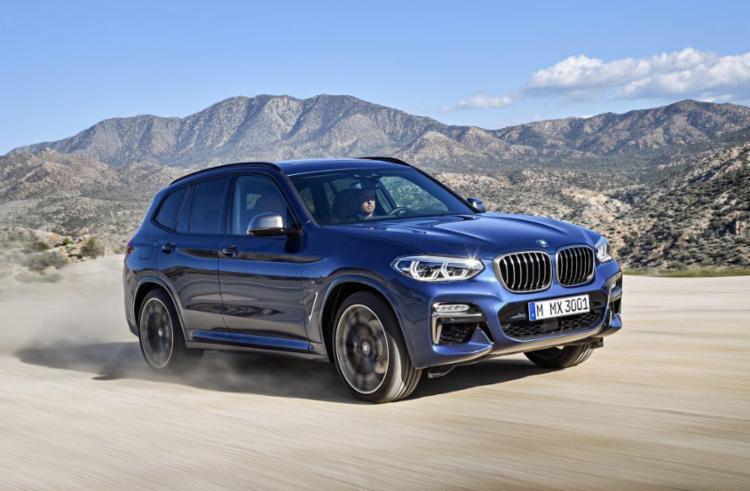 Na terceira geração, BMW X3 chega com preços a partir de R$ 309.950 - Foto: Divulgação