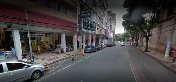 Caso foi descoberto por uma funcionária do estabelecimento - Foto: Reprodução | Google Street View