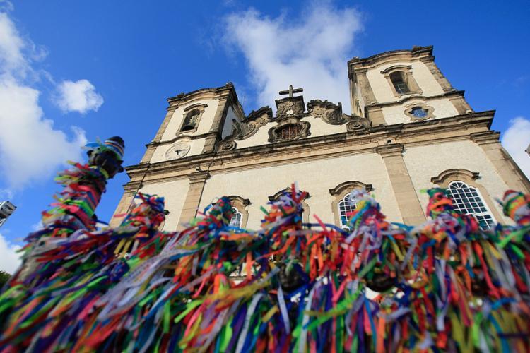 Trajeto até a Colina Sagrada oferece diversos destaques - Foto: Raul Spinassé l Ag. A TARDE