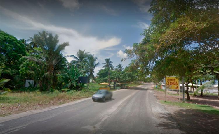 A vítima trabalhava na Cabana Canoa, em Ilhéus - Foto: Reprodução   Google Maps