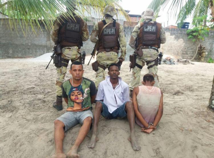 Daniel, Carlos e um adolescente são autores confessos de dois homicídios - Foto: Divulgação | SSP-BA