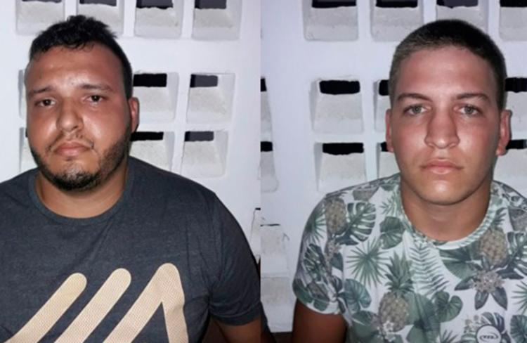 A dupla se assustou depois que o alarme e cortina de fumaça foram acionados - Foto: Reprodução | Site Portal de Noticias
