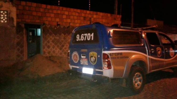 Crime aconteceu na rua Pilar do Sul, em Feira de Santana - Foto: Aldo Matos | Reprodução | Acorda Cidade