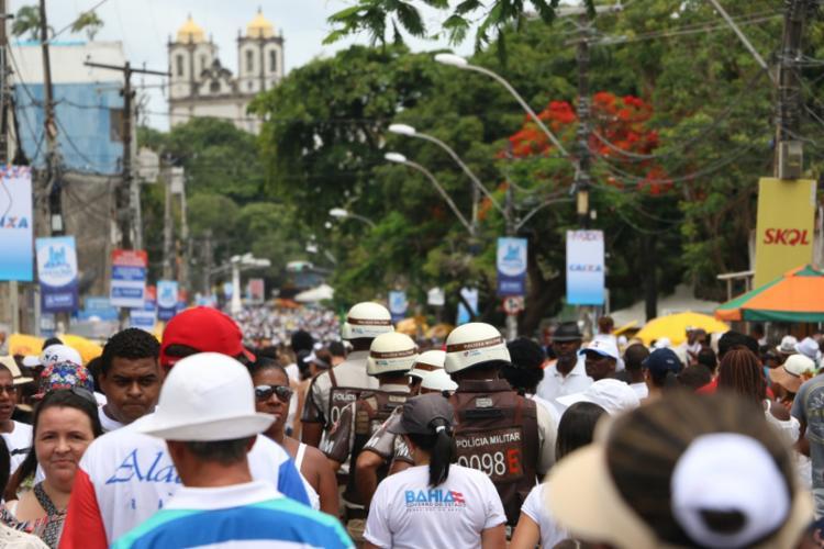 Evento contou com postos de atendimento das Policias Militar, Civil e Corpo de Bombeiros - Foto: Divulgação   SSP