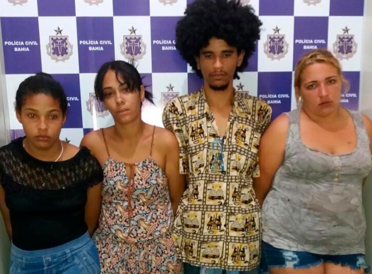 Os suspeitos já possuem passagens pela polícia - Foto: Divulgação | Polícia Civil