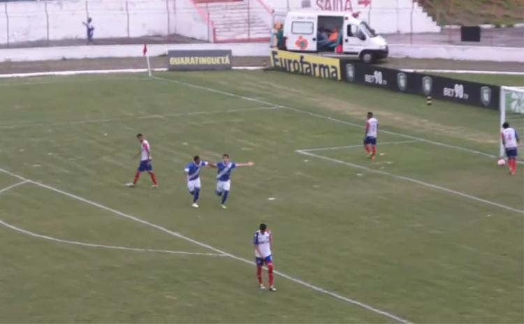 Lucas Grossi marcou o gol da classificação do time do interior paulista - Foto: Reprodução
