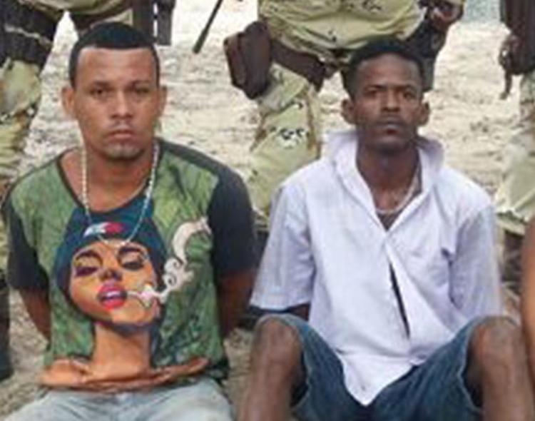 Daniel e Carlos estupraram mulher antes de matá-la; o marido dela também foi assassinado - Foto: Divulgação l SSP-BA