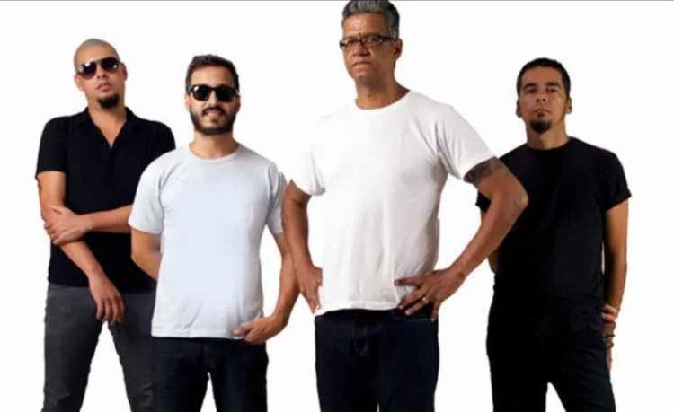 Ricardo Cadinho, Thiago Trad, Fábio Cascadura e Du Txai: última formação é a que toca no show - Foto: Divulgação