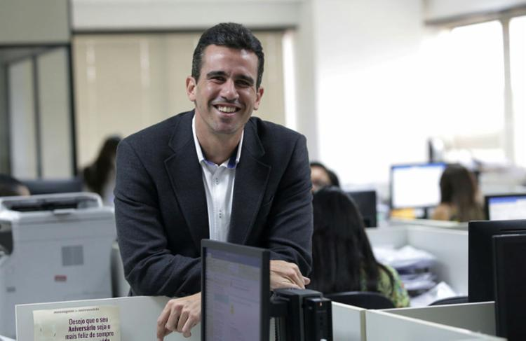 Felipe Monteiro conta que Salvador alavanca as vendas da MRV no Nordeste - Foto: Adilton Venegeroles   Ag. A TARDE