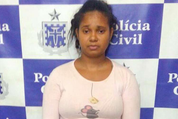 Mayara tinha passagem pela polícia por suspeita de tráfico de drogas - Foto: Divulgação   Polícia Civil