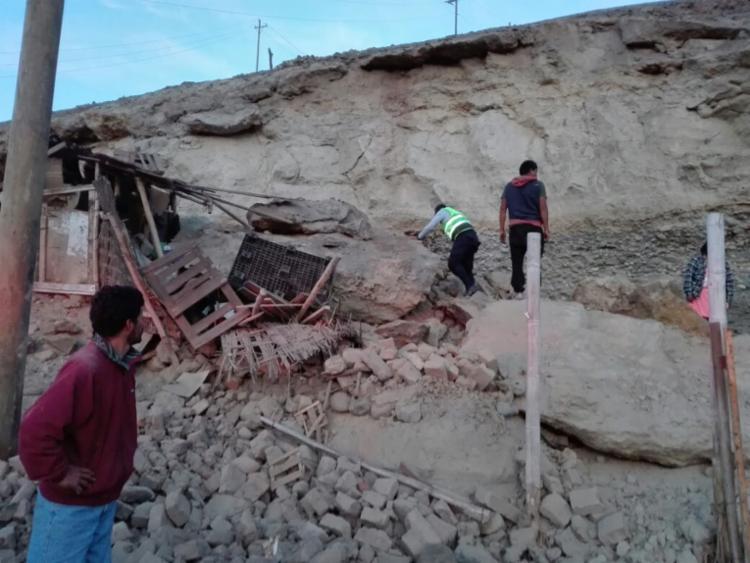 Tremor foi registrado cerca de 40 quilômetros a sudoeste da pequena cidade de Acari - Foto: Reprodução | Twitter | COEN Peru