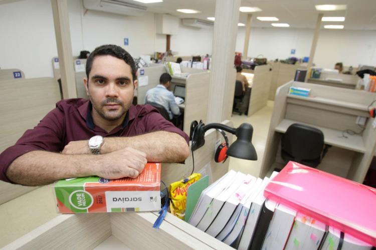 Roberto David recomenda que os estudantes estejam em dia com os estudos - Foto: Mila Cordeiro | Ag. A TARDE