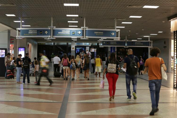 Estimativa é ampliar a movimentação de passageiros no aeroporto - Foto: Mila Cordeiro   Ag. A TARDE