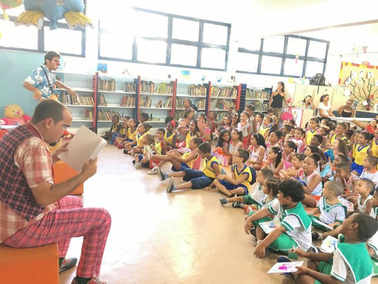 Período de férias também é tempo de frequentar bibliotecas - Foto: Fernanda Campos | Fundação Pedro Calmon