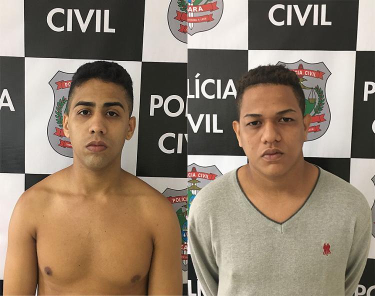 Jovens vão responder por tentativa de latrocínio - Foto: Divulgação | SSPDS-CE
