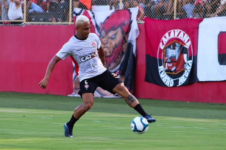 Destaque em jogo-treino, Bryan é uma das duas novidades no time titular de Vagner Mancini - Foto: Maurícia da Matta l EC Vitória