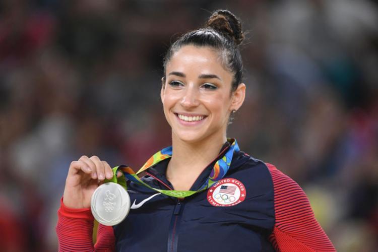 Aly Raisman é dona de seis medalhas olímpicas na ginástica artística - Foto: Toshifumi Kitamura | AFP