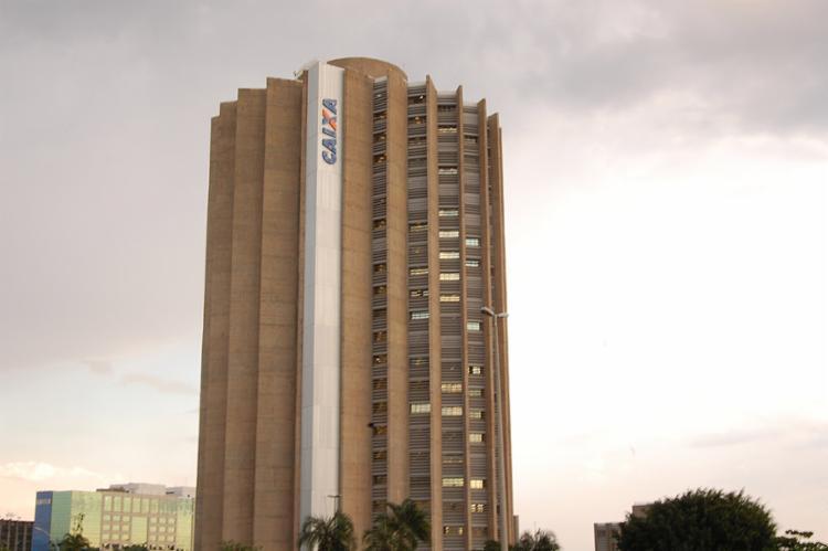 Edifício-sede da Caixa Econômica Federal, em Brasília - Foto: Dani Percinoto l Divulgação l 17.09.2009