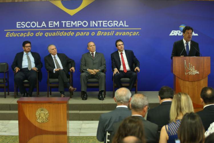 Mendonça Filho, ministro da Educação, homologou o texto nesta quarta, 17 - Foto: Antonio Cruz | Agência Brasil