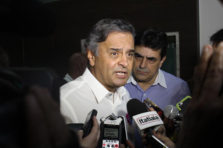 Delatores da Odebrecht afirmaram que repassaram dinheiro de caixa 2 para Aécio Neves - Foto: Divulgação l PSDB