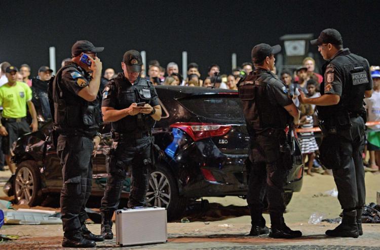 Antonio de Almeida Anaquim dirigiu o carro que atropelou 17 pessoas - Foto: AFP