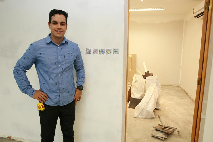 Mendes conta que o Construcode divide os projetos CAD ou BIM em áreas menores - Foto: Alessandra Lori l Ag. A TARDE