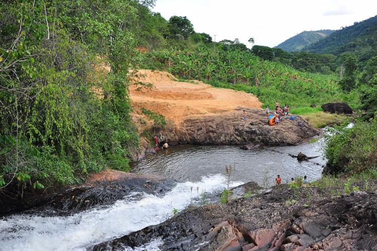 O rio é um dos afluentes do rio das Contas - Foto: Dimas de Campos l Divulgação l 25.10.2013