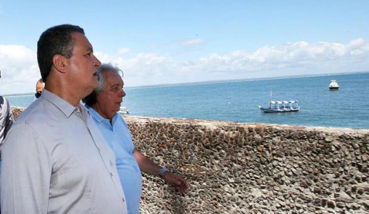 O governador Rui Costa participou da cerimônia de reinauguração - Foto: Manu Dias l Gov-BA