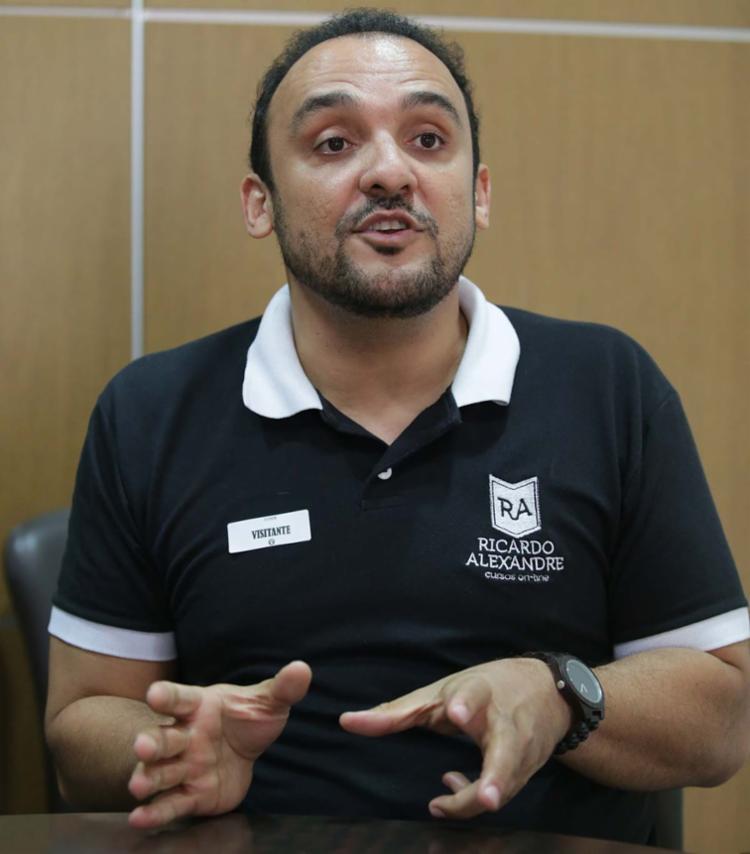 Ricardo Alexandre de Almeida, professor e procurador do Ministério de Público de Contas de Pernambuco - Foto: Alessandra Lori | Ag. A TARDE