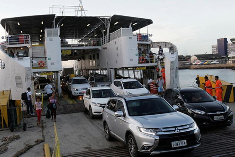 Ferryboat opera de forma ininterrupta até o dia 3 de janeiro - Foto: Margarida Neide   Ag. A Tarde