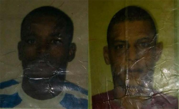 Luciano, 36 anos, e Saulo, 35 anos, foram mortos neste domingo - Foto: Reprodução   Site Acorda Cidade