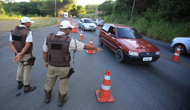 Número de acidentes reduziu 39% em relação ao mesmo período do ano passado - Foto: Joá Souza | Ag. A TARDE