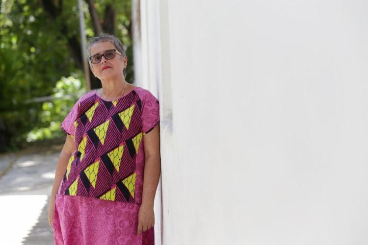 A guia Paula Santos é pioneira no turismo étnico em Salvador - Foto: Adilton Venegeroles / Ag. A TARDE