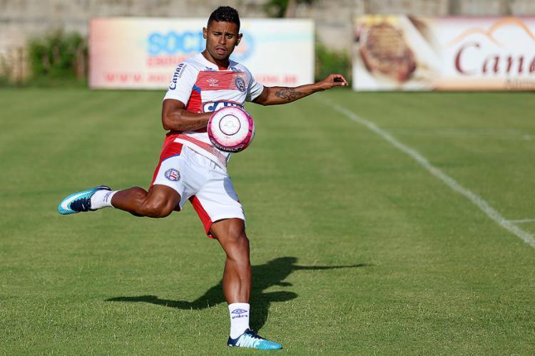 Centroavante, Kayke marcou apenas nove gols no ano passado - Foto: Felipe Oliveira (EC Bahia) l Divulgação