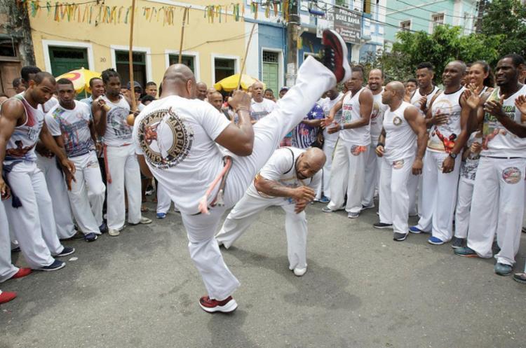 A capoeira nasceu como forma de resistência cultural - Foto: Luciano da Matta | Ag. A TARDE