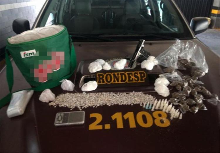 Apenas na Boca do Rio foram encontradas 847 pedras de crack - Foto: Divulgação | SSP
