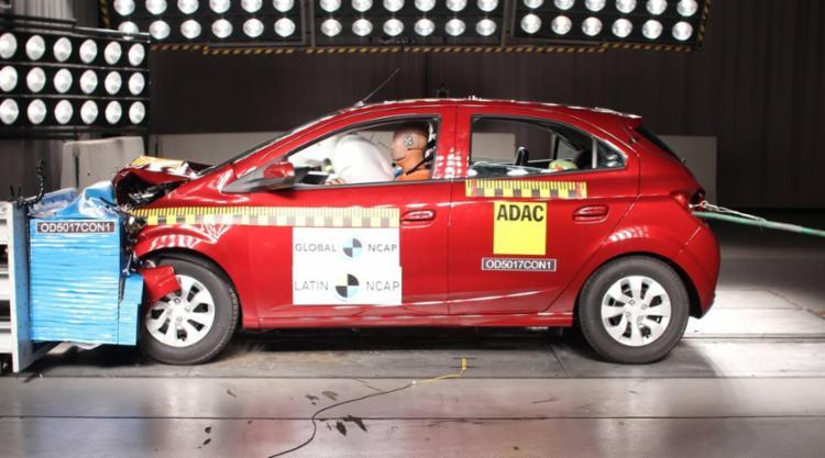Carro mais vendido do Brasil sai de zero e ganha três estrelas no Latin NCAP - Foto: Divulgação