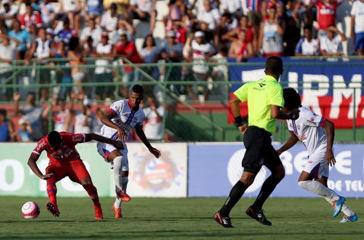 Tremendão venceu o Bahia na primeira rodada - Foto: Felipe Oliveira | EC Bahia