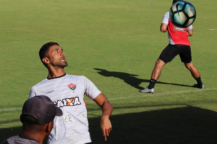 Na mira do São Paulo, Tréllez foi relacionado e vai para o jogo - Foto: Mauricia da Matta l EC Vitória