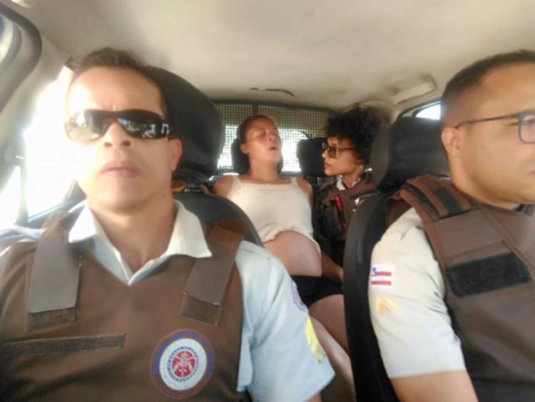 Daniela Paula Souza foi encaminhada para o Hospital Sagrada Família - Foto: Divulgação | SSP-BA