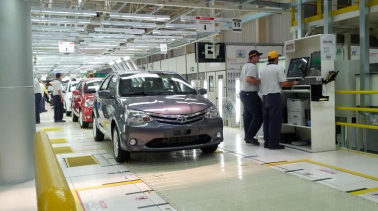 A Planta de São Bernardo do Campo (SP) é a primeira fábrica da Toyota fora do Japão, com início das operações em 1962 - Foto: Divulgação