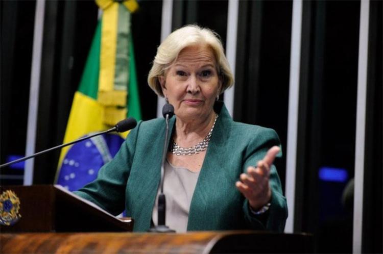 Ana Amélia (PP-RS) esteve na linha de frente pró-impeachment de Dilma Rousseff - Foto: Divulgação