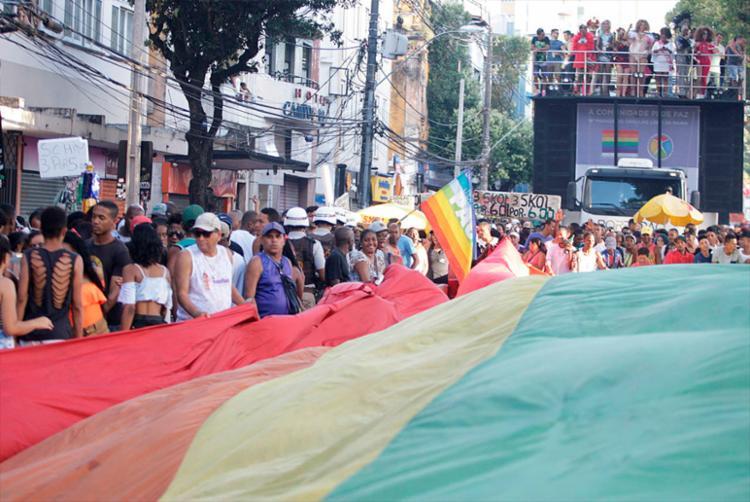 Na Bahia 17 pessoas trans foram mortas em decorrência do preconceito contra sua identidade de gênero em 2017 - Foto: Luciano da Matta | Ag. A TARDE | 10/09/2017