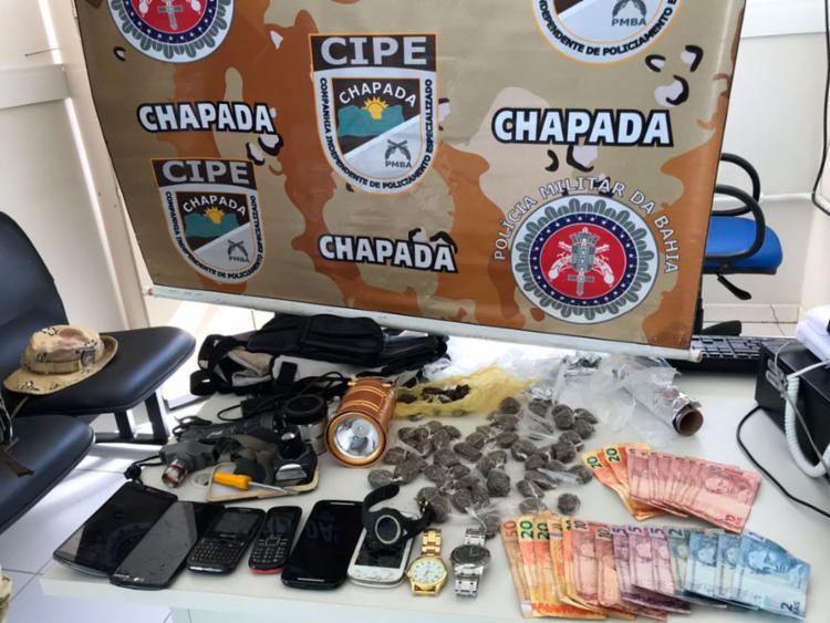 Todo o material foi encaminhado para delegacia de Andaraí - Foto: Divulgação | SSP-BA